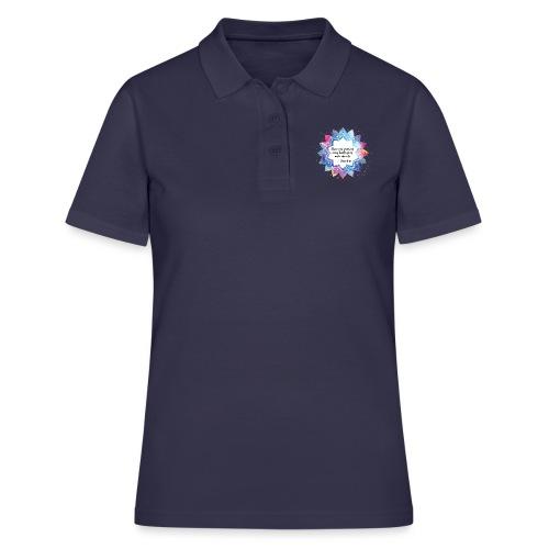 Citation positive de Bouddha - Women's Polo Shirt