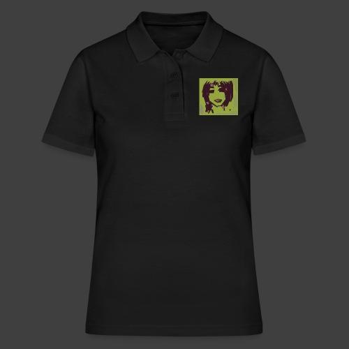 Green brown girl - Women's Polo Shirt
