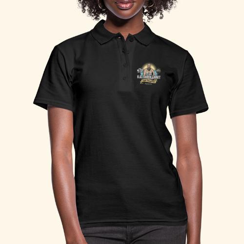 Kalsarikännit Kippis Artist - Frauen Polo Shirt