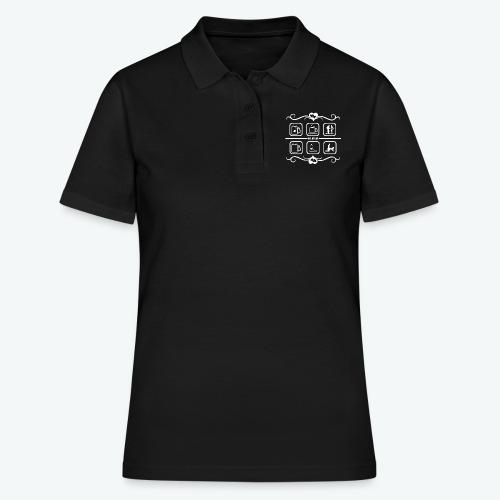Russisch Flirtshirt - Frauen Polo Shirt