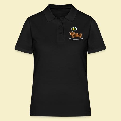 Bin dann mal in Schweden - Frauen Polo Shirt