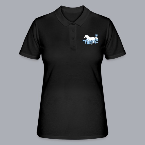 H&l denim Simple Horse - Women's Polo Shirt