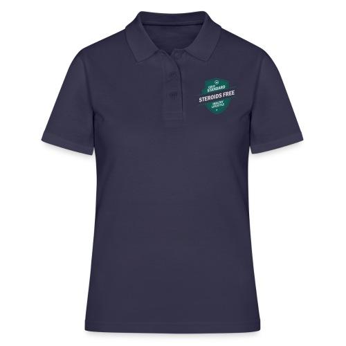 GoldStd-SteroidsFree-33 - Women's Polo Shirt