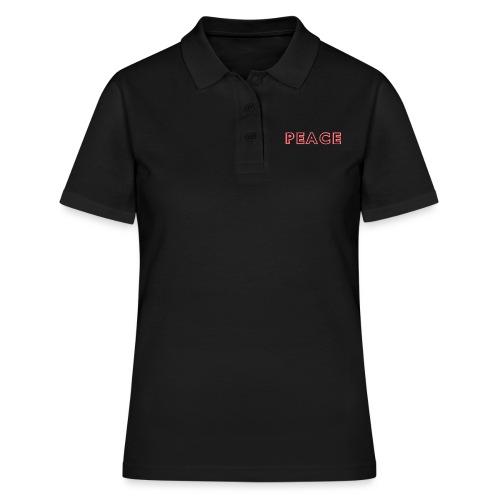 Peace Logo - Women's Polo Shirt