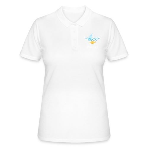 Dream big is shark - Women's Polo Shirt