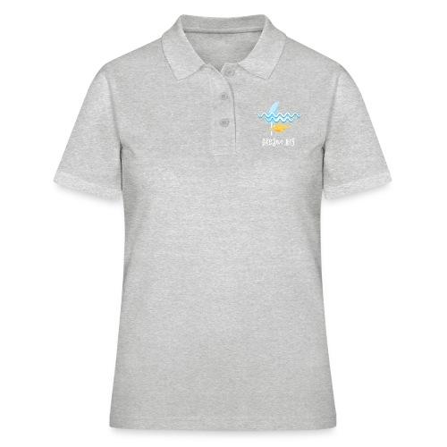 Dream big is shark - Women's Polo Shirt