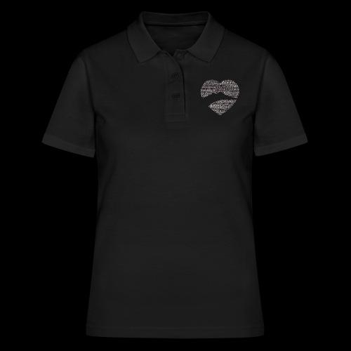 cuordinapoli black - Women's Polo Shirt