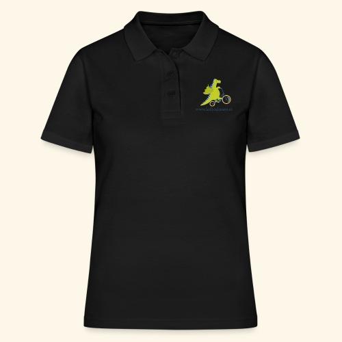 Musikdrache für hellen Hintergrund - Frauen Polo Shirt