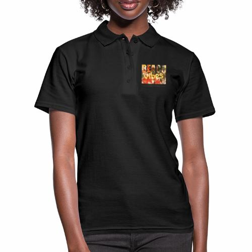 beach vibes street style - Frauen Polo Shirt