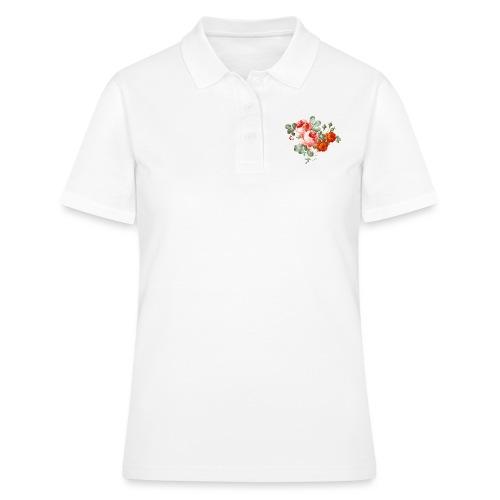 flores - Camiseta polo mujer