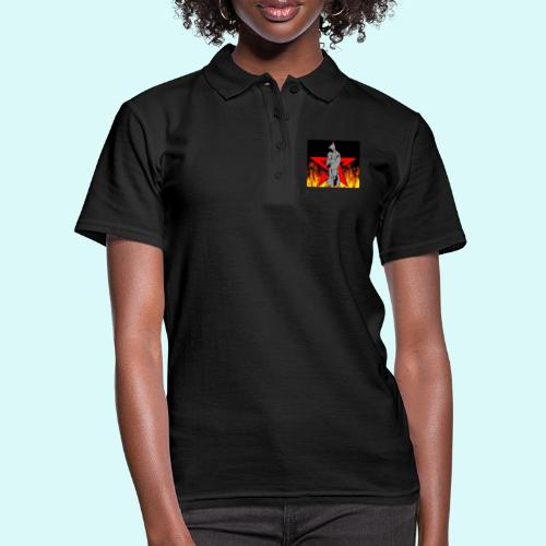 moine et pentagramme - Women's Polo Shirt