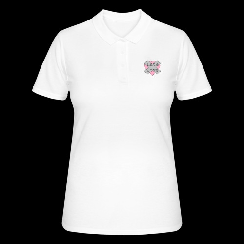 Hate love - Women's Polo Shirt