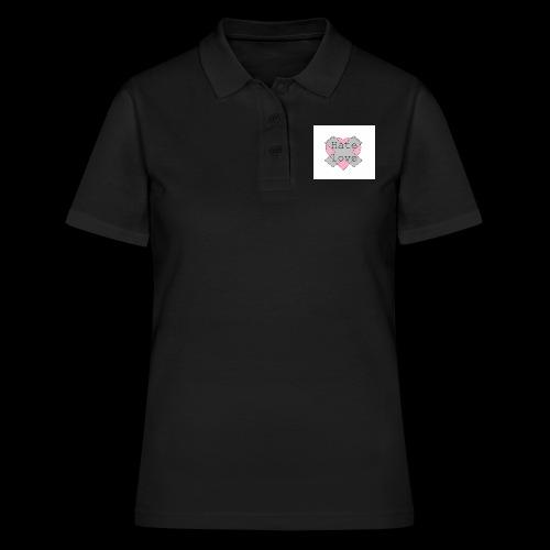 Hate love - Camiseta polo mujer