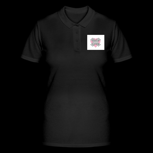 Hate love - Women's Polo Shirt