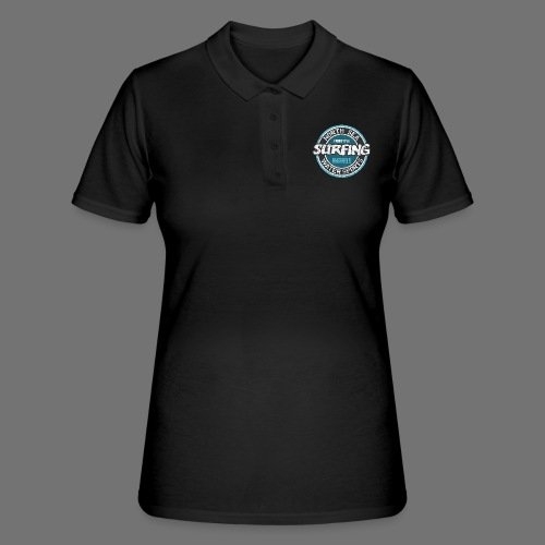 North Sea Surfing (oldstyle) - Frauen Polo Shirt