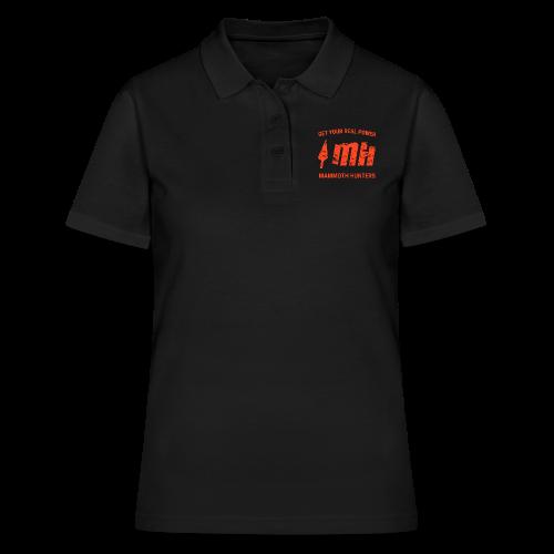 Mammoth Hunters / Naranja - Women's Polo Shirt