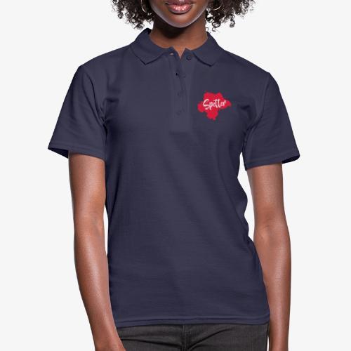 Design spetter rood - Women's Polo Shirt