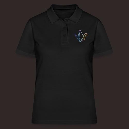 Schwan | Ente Vogel Origami - Frauen Polo Shirt