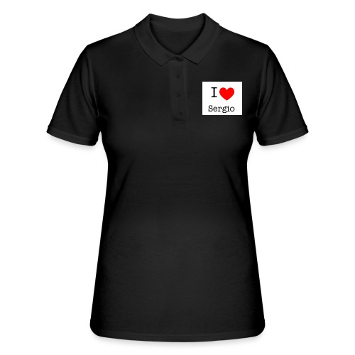 i love sergio - Women's Polo Shirt