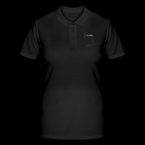 The cross incomplete - Women's Polo Shirt