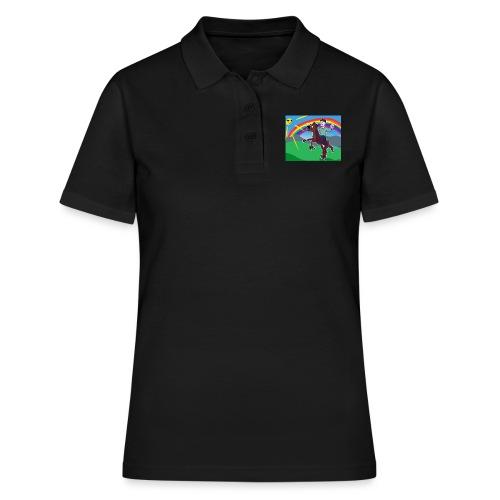 Regnbue Strandfisk Musematte - Poloskjorte for kvinner