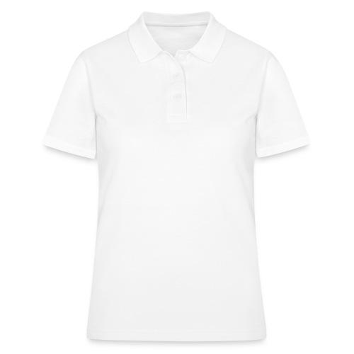 Chihuahua pitkakarva valkoinen - Women's Polo Shirt