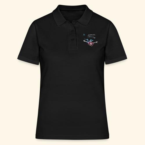 fly: night dive - Women's Polo Shirt