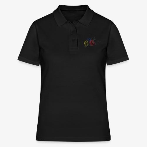 stuck in net - Frauen Polo Shirt