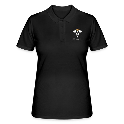 Not your mom not your milk - Women's Polo Shirt
