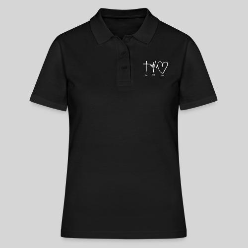 Hoffnung Glaube Liebe - hope faith love - Frauen Polo Shirt