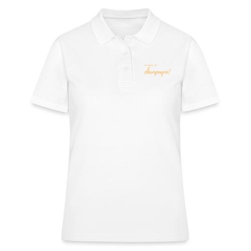 No Pain, No Champagne! - Women's Polo Shirt