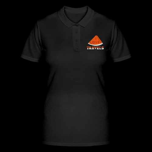 I LOVE TRAVELS FRUITS for life - Women's Polo Shirt