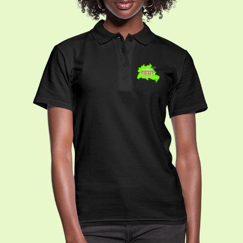 Berlin ist grün und bunt / BerlinLightShow - Frauen Polo Shirt