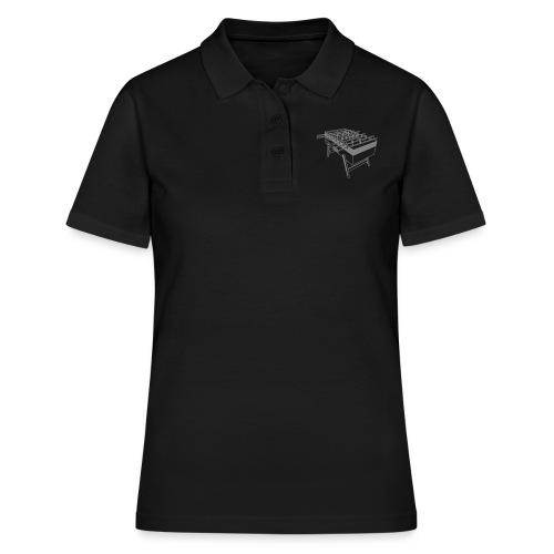 Kickertisch - Kickershirt - Frauen Polo Shirt