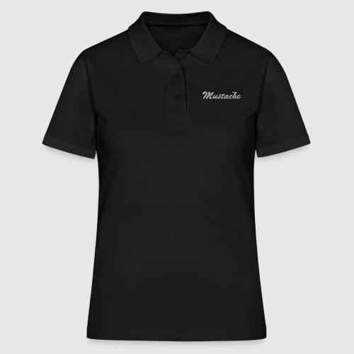 White Lettering - Women's Polo Shirt