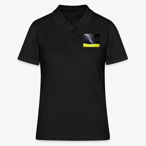 Oryginalny obraz Cisza - Women's Polo Shirt