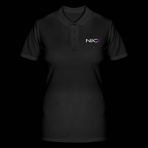 NICI logo WHITE - Women's Polo Shirt