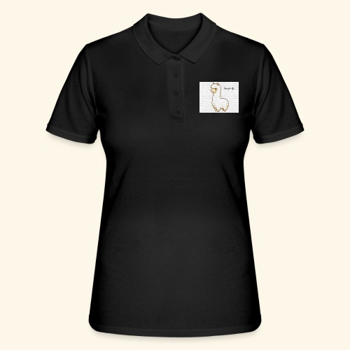 lama / alpaca - Frauen Polo Shirt