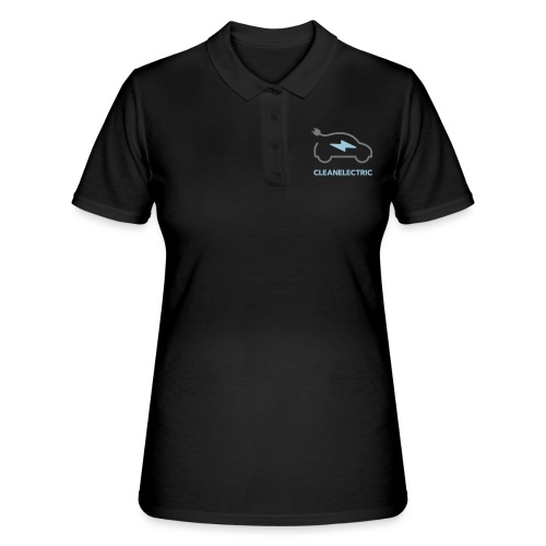 CLEANELECTRIC Logo - Frauen Polo Shirt