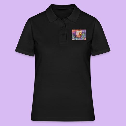 Gattino scintillante nella tasca dei jeans - Women's Polo Shirt