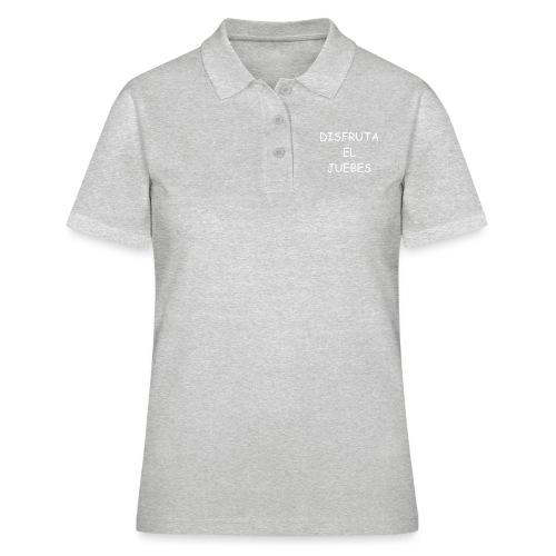 Disfruta el juebes! - Camiseta polo mujer