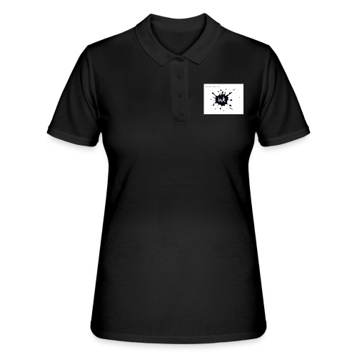 Ink Logo and website - Women's Polo Shirt