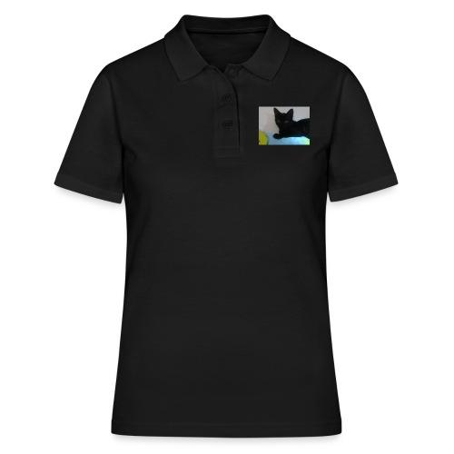 gato negro - Camiseta polo mujer