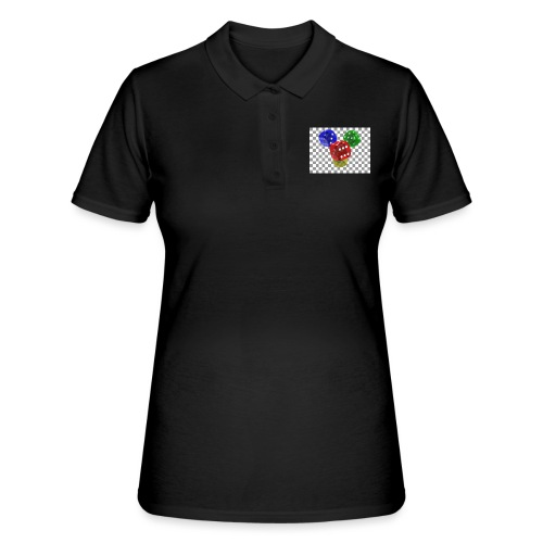 PNG transparency demonstration 2 - Frauen Polo Shirt