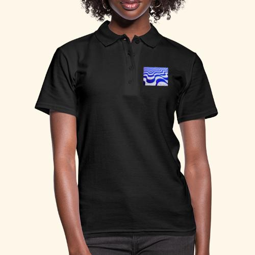 Onde blu - Women's Polo Shirt