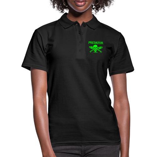 Predator fishing green - Frauen Polo Shirt