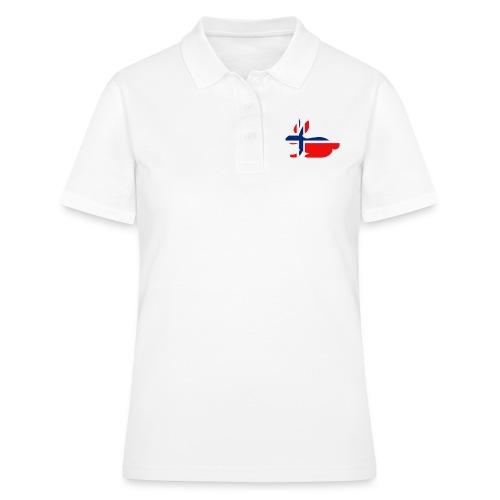 bunny logo - Women's Polo Shirt