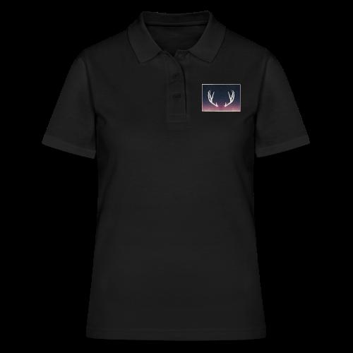 Poronsarvet taustalla - Women's Polo Shirt