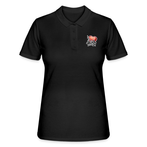 I LOVE HIP HOP PARTY !!!! - Frauen Polo Shirt