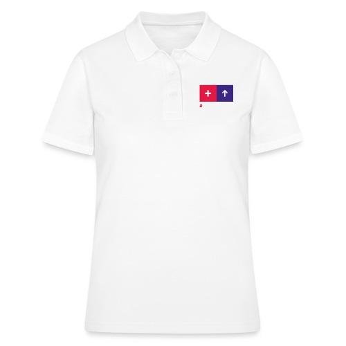 Conversionator mit Plus & Pfeil - Frauen Polo Shirt